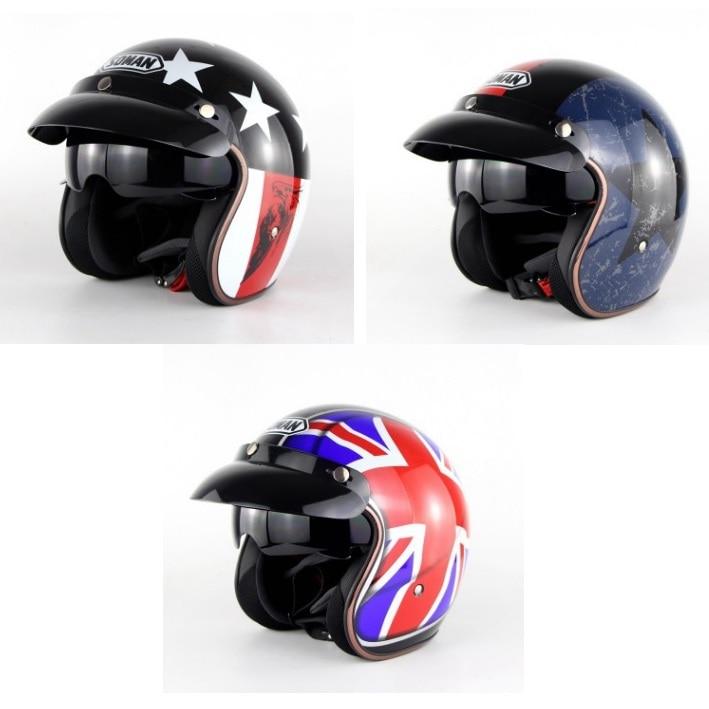 Motorcycle Helmet Half Face Helmet Standard Helmet High Quality Helmet National Flag Design Three Style технопарк 67307 машина металлическая инерционная bentley continental 1 43 13 см