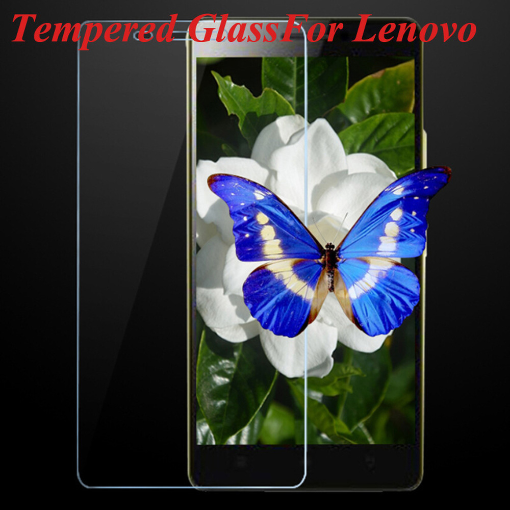 9H 2.5D Tempered Glass Screen Protector For Lenovo A328 A916 A536 A606 A319 Vibe P1M X2 K50 T5 K900 K6 Protective Film on Phone