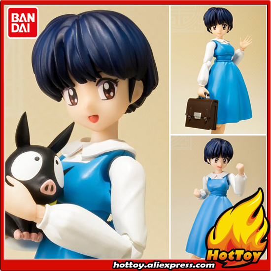 100% Original BANDAI Tamashii Nations S.H.Figuarts (SHF) Exclusive Action Figure - Tendou Akane from Ranma 1/2 100% original bandai tamashii nations s h figuarts shf exclusive action figure garo leon kokuin ver from garo