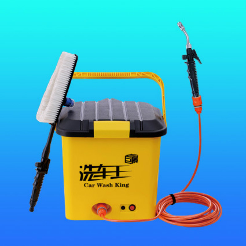 Portable Car Wash Equipment 25L/electric High Pressure 12V Motor Pump High Pressure Washer Foam Generator Car Wash(China)