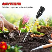 TPFOCUS Moisture Humidity Meter PH Tester for Garden Soil Metal Probe Hygrometer Indoor