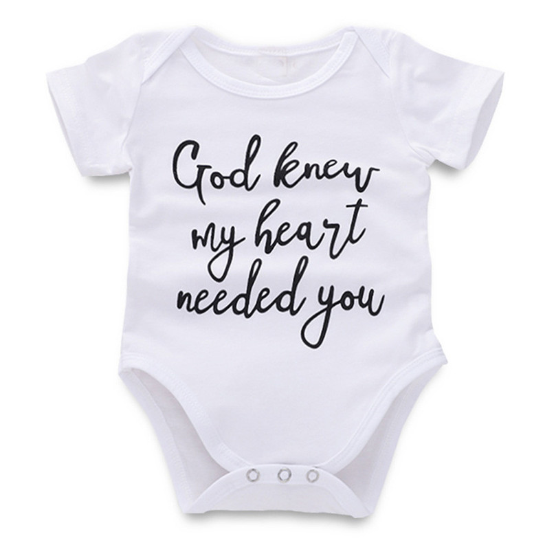 Baby Romper Newborn Baby costume Infant Boys Girls Short Sleeve Letter Printed Jumpsuit Romper Clothes baby clothes D24 (1)