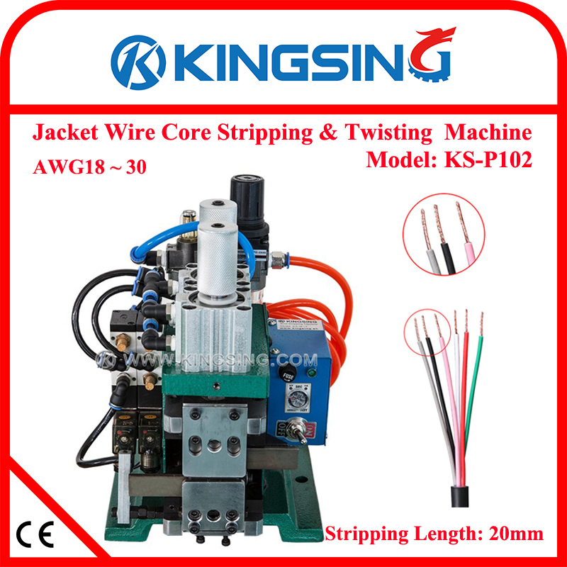 Factory Wholesale Jacket Wire Core Stripping and Twisting Machine ...