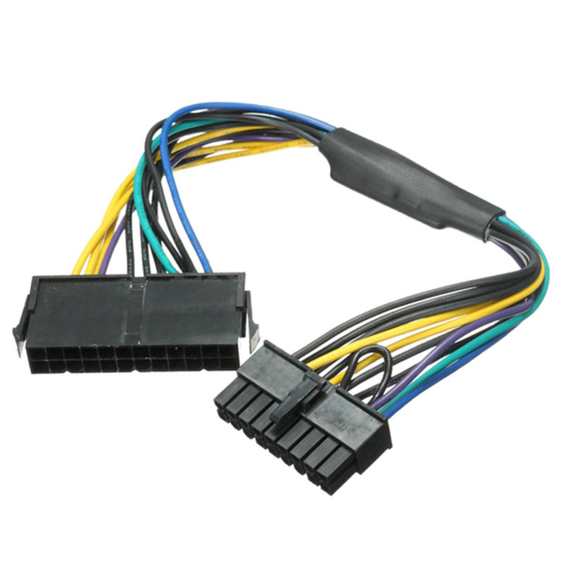 12 Inch 24-Pin to 18-Pin ATX Power Supply Adapter Cable for HP Z620 Z420 Z230
