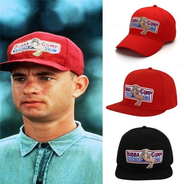 1994 Bubba Gump Garnalen CO.   Baseball   Hoed Hip Hop   Cap   Kostuum Cosplay Geborduurde Snapback   Cap   Mannen & Mannen & Vrouwen Zome
