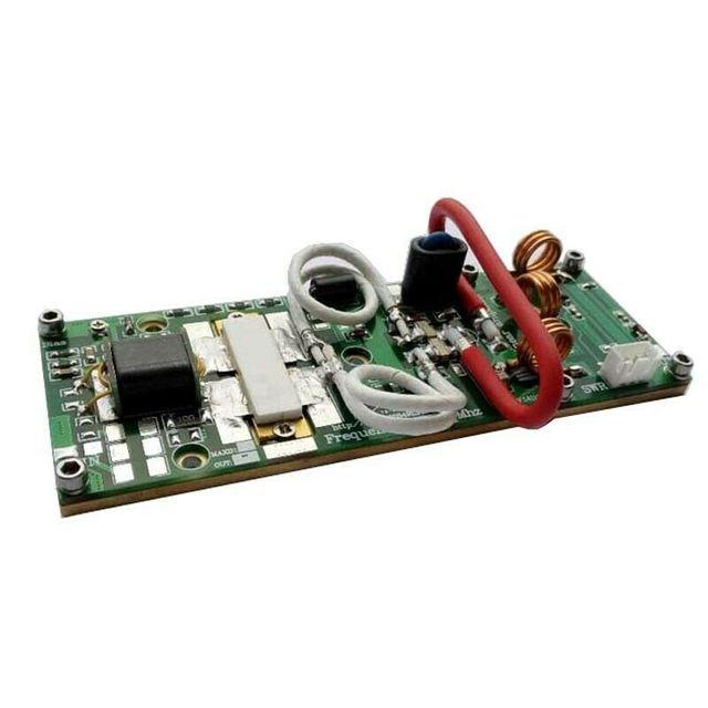 DIY ערכות 170W FM VHF 80 MHZ 170 Mhz RF כוח מגבר amp לוח AMP ערכות עם MRF9180 צינור לרדיו חם