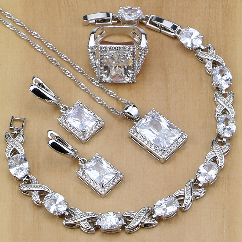 Square 925 Sterling Silver...