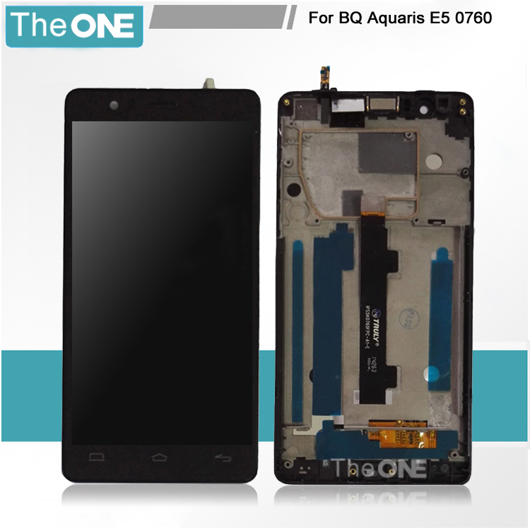 Подробнее о Free DHL Phone Screen For BQ Aquaris E5 FHD IPS5K0760FPC-A1-E LCD With Touch with frame Digitizer Display Assembly Replacement high quality for bq aquaris u aquaris u plus lcd display touch screen digitizer assembly mobile phone lcds free tools price us