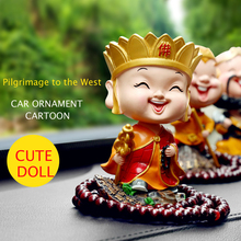 E-FOUR Ornament Funny Little Doll Monkey King Traditional Toy Car Styling Decoration Special Gift Unique Ornaments