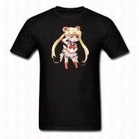 Sailor Moon Harajuku T Shirt Men Women Cosplay Top Kawaii Funny O Neck Tshirt Cartoon Print