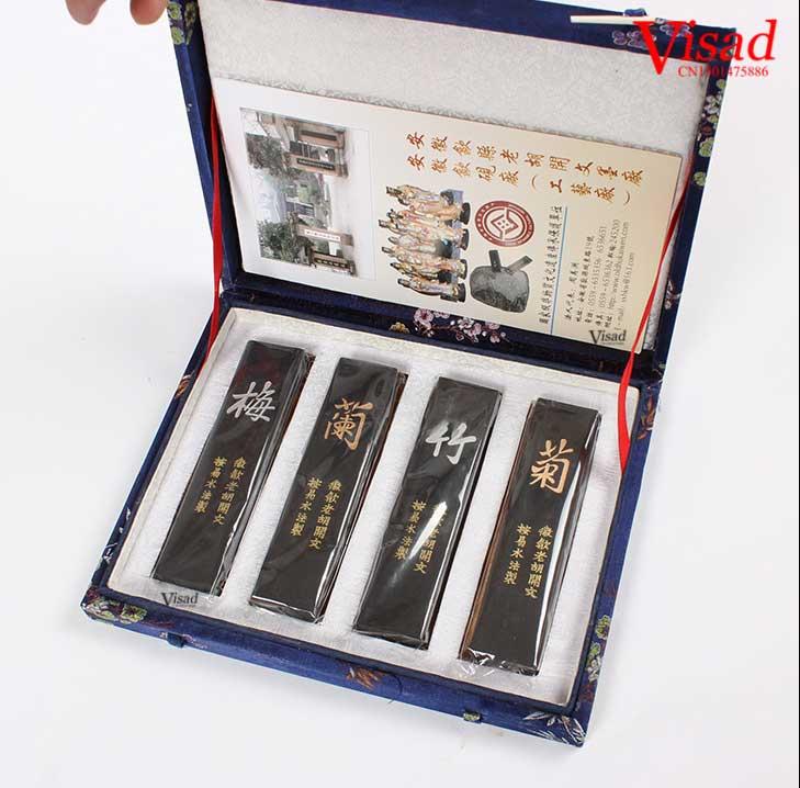 Top chinois artiste encre bâtons aquarelle peintures tissu peinture à l'huile aquarelle peintures inker peinture encre bâton artiste cadeaux