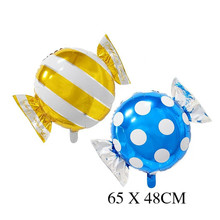 Candy Foil Balloons helium balloon wedding decorations baloon air balls happy Birthday balloons Inflatable toys Party Supplies стоимость