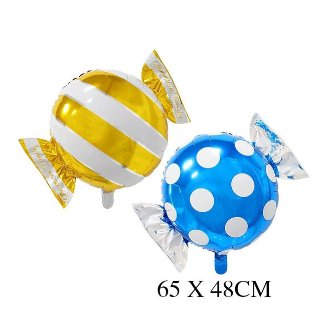 Candy Foil Balloons helium balloon wedding decorations baloon air balls happy Birthday balloons Inflatable toys Party Supplies