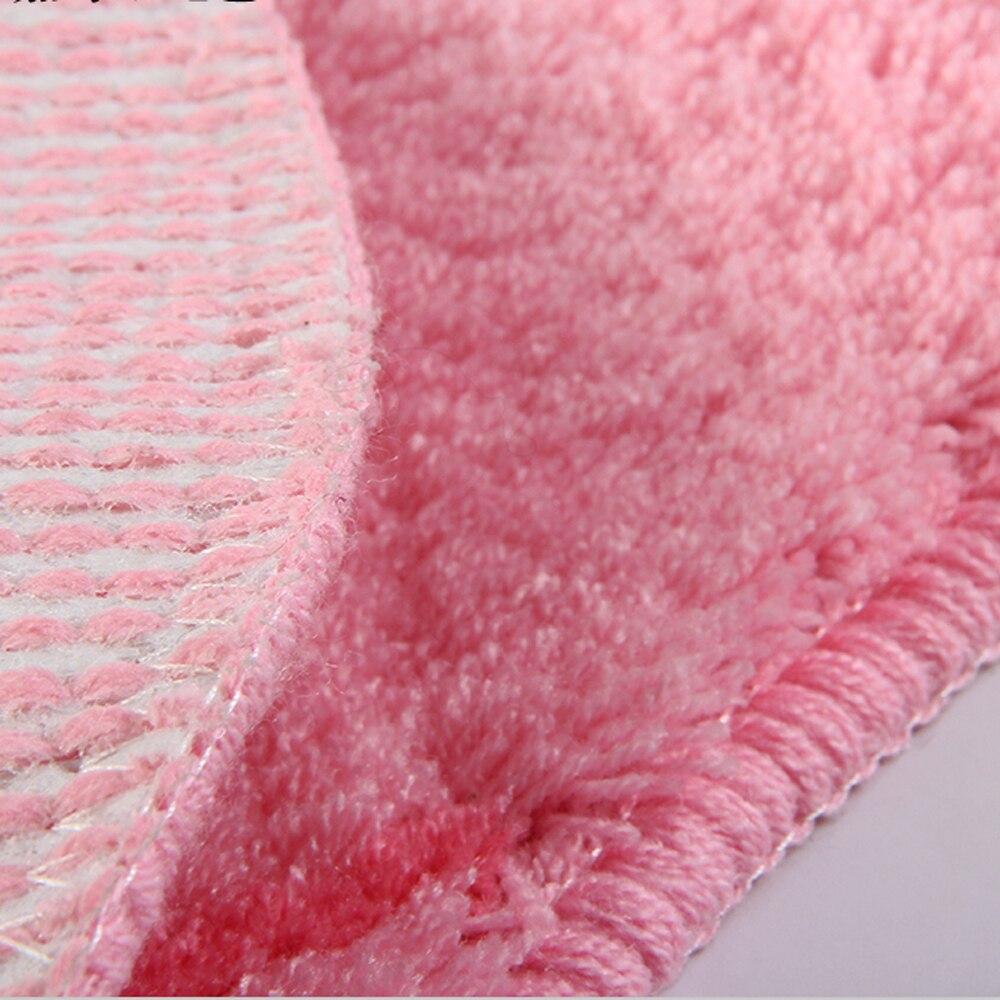 Пасторальный розовый 1 роза/3 розы Форма ковер и ковер для гостиной цветочный Противоскользящий дверной коврик мягкий ворсовый ковер коврик для ванной