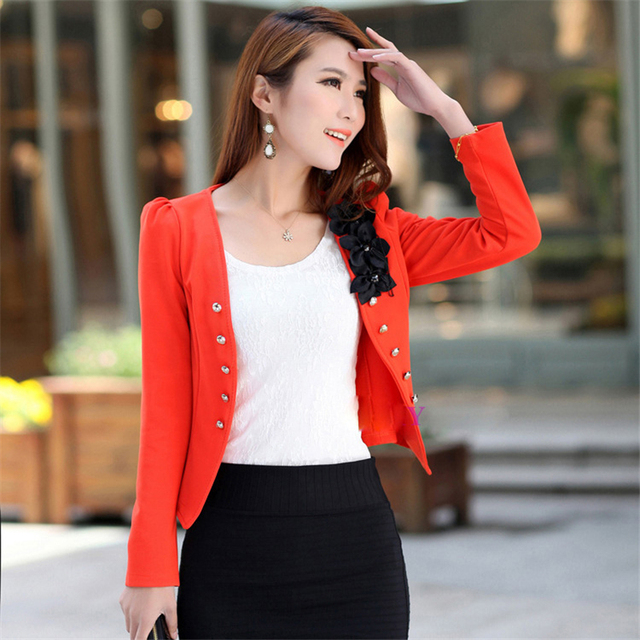 Plus Size 5XL Womens Blazer Work Office Women Blazer Long Sleeve Coat Fashion Casual Pink Black Suit Basic Fall Jacket 4