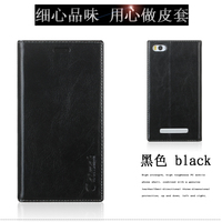 Aimak For Xiaomi Redmi 4A Case Genuine Leather PU Leather With Card Type Back Cover For