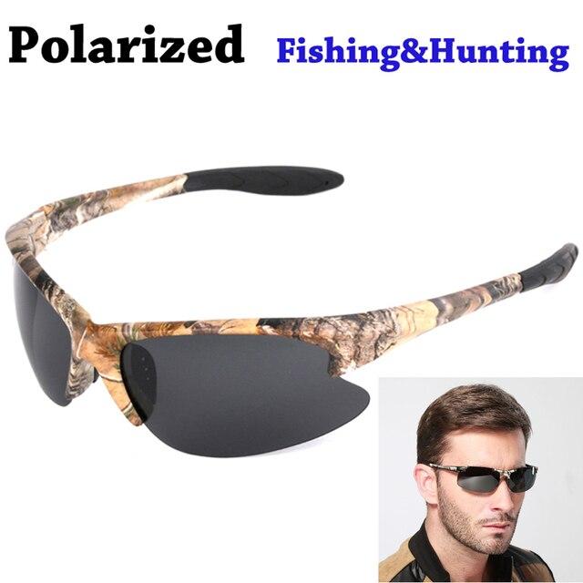 2016 New Camouflage Frame Outdoor Sports Polarized Sunglasses Men Brand Designer Male Eyewear Driving Fishing Hunting Glasses