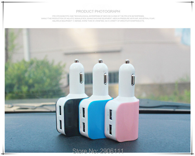 Car Styling Accessories Dual USB Car Charger Universal Quick For - Audi car charger