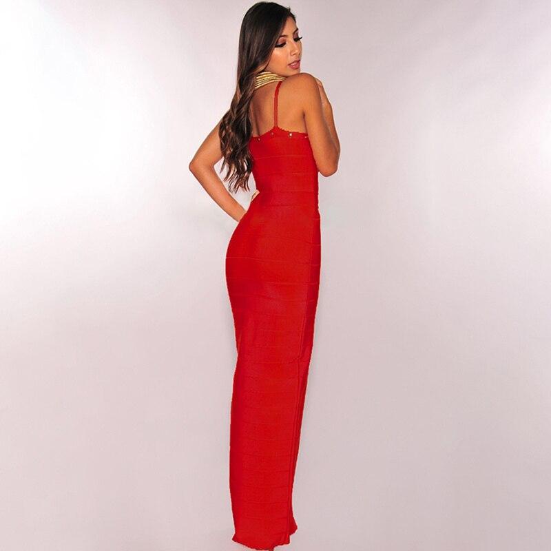 Nouvelle 2017 Noir The rouge Perles Épaule En longueur Sexy V Rouge Cheville Col Arrivée Off Gros Spaghetti Noir Strap Femmes ArUwAq