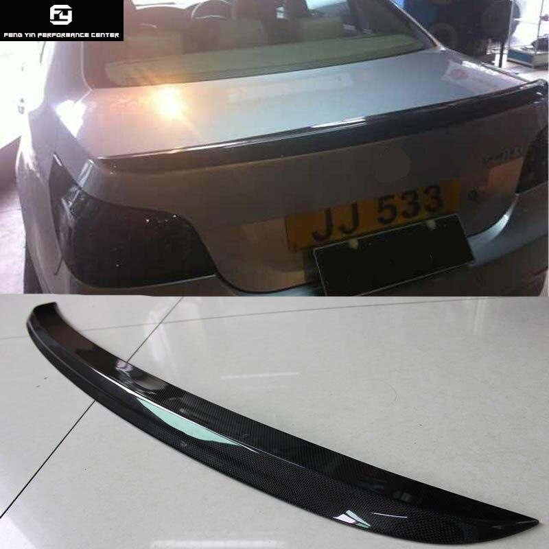 E60 5 série M5 style ailes de Spoiler arrière de voiture en fibre de carbone pour BMW E60 520i 525i 530i style de voiture 05-09