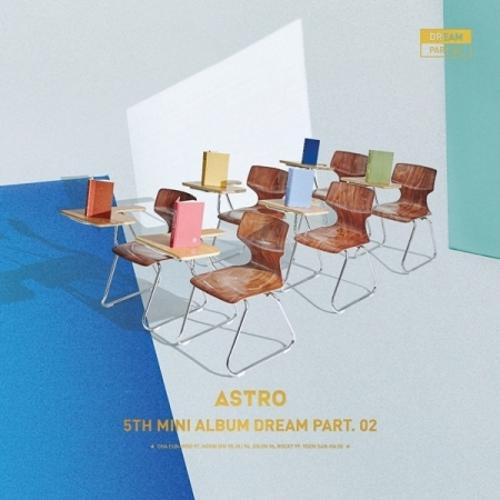 ASTRO 5th Mini Album - Dream Part.02 - (Wind + Wish Version) 2 albums/set   -  Release Date  2017.11.02 bigbang 2012 bigbang live concert alive tour in seoul release date 2013 01 10 kpop