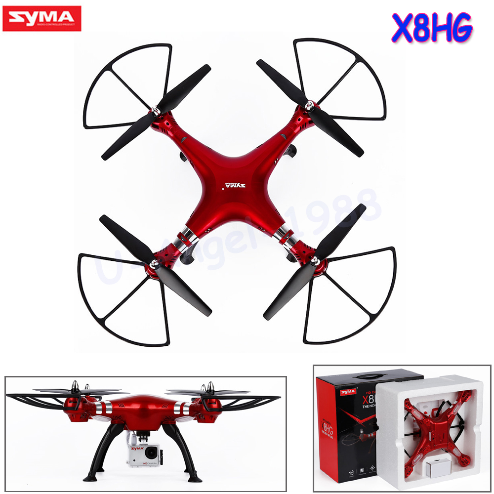 SYMA X8HG 2.4G 6-Axis Profissional Quadcopter Drone with Camera HD 720P/1080P RC Helicopter Vs Syma X8 X8G X8C syma x8c 2 4g 4ch 6 axis rc quadcopter drone helicopter 2 mp hd camera with gift can hold gopro camera same as x8w x8g