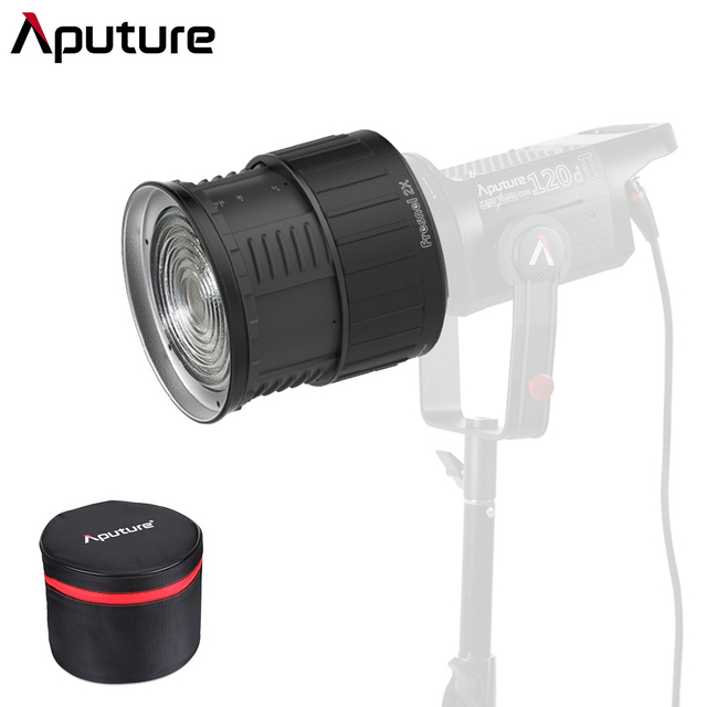 Aputure Fresnel 2X Fresnel ii 2 Lens Bowen S Mount A Multi Functional Light Shaping Tool for Aputure LS 120D 120D Mark 2 300D II