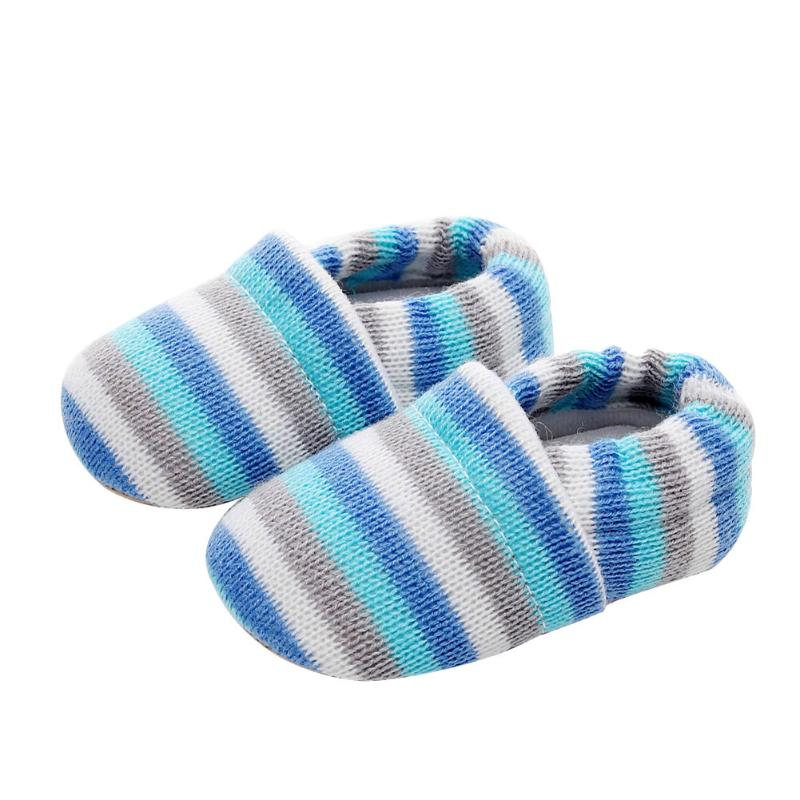 Winter Baby Girls Shoes Toddlers Baby Moccasins Casual European Anti-Skid Children Knitted Shoe First Walkers
