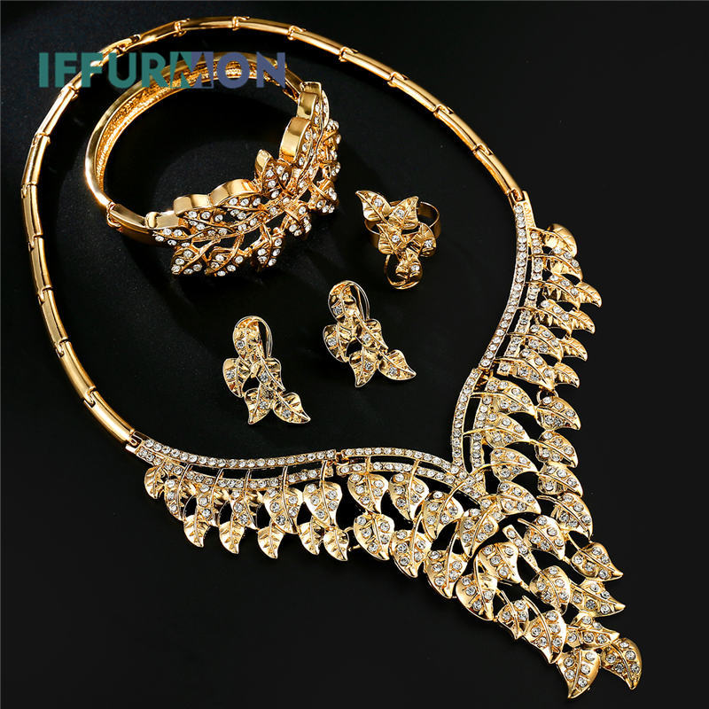 Iffurmon Jewelry Sets For Women African Jewelry Set