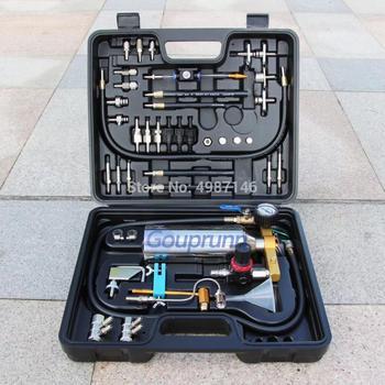 Darmowa wysyłka! GX-100 + Auto konserwacja silnika konserwacja bez demontażu czyszczenie układu paliwowego Gasonline wtryskiwacz do czyszczenia narzędzia do petrolCar tanie i dobre opinie Gouprunn 4 5kg Ciśnienie i próżni testerów Newest 45cm 12cm GX-100 + full Set 35cm Fuel System Cleaing Auto Fuel System Injector Cleaning