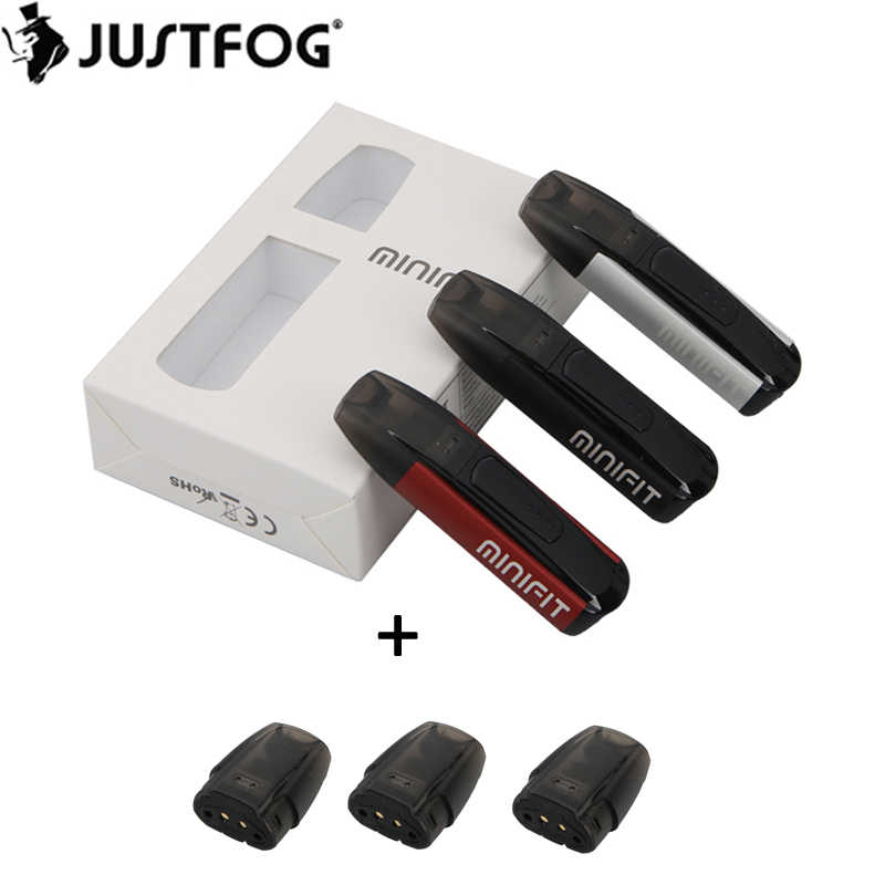 Originele Justfog Minifit Pod Kit met 370mAh Batterij en 1.5ml Tank Elektronische Sigaret Vape Pen All in one vaping