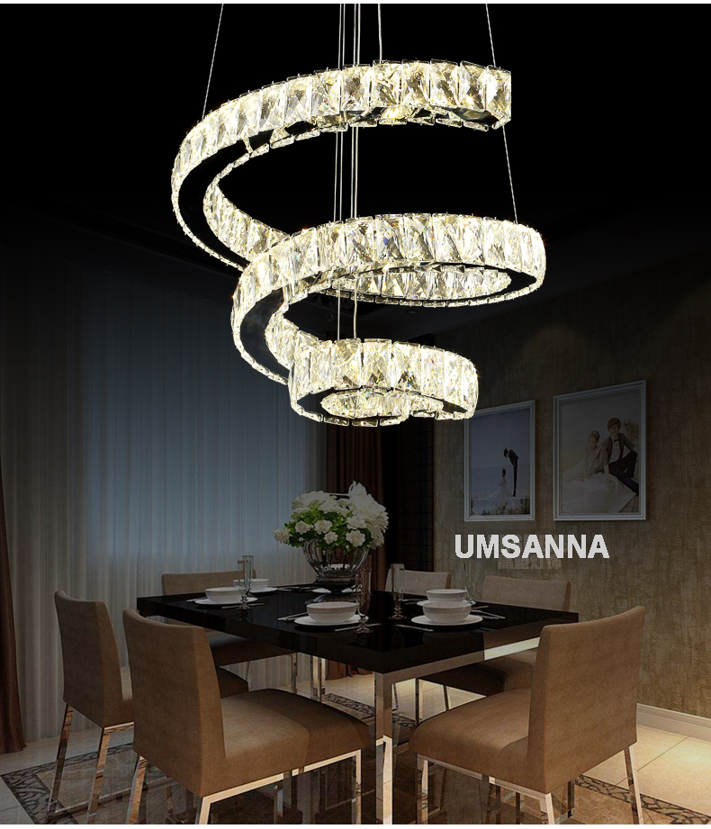 Crystal Chandeliers LED Modern Chandelier Lights Fixture