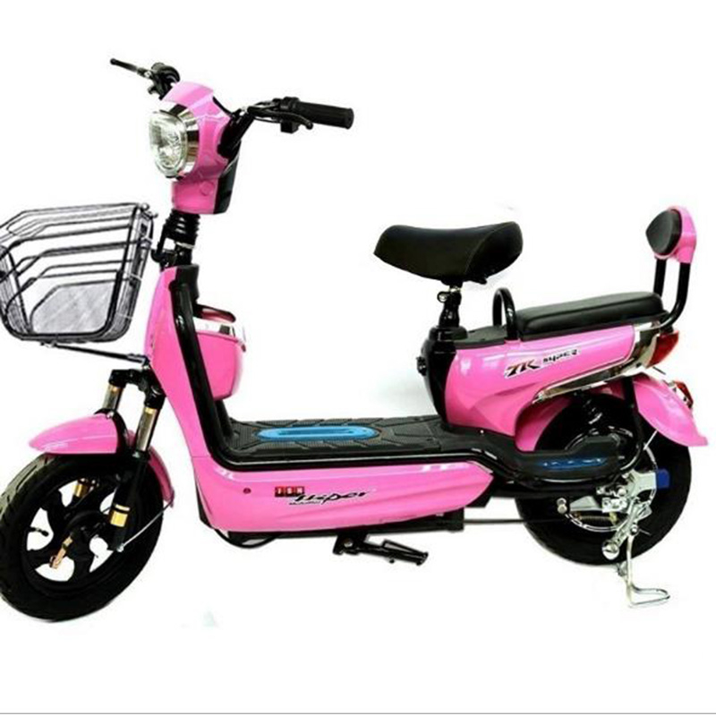 Electric Vehicles Mini Battery Cars Adult Electric Bicycles Two Wheeled Manned Electric Motorcycle