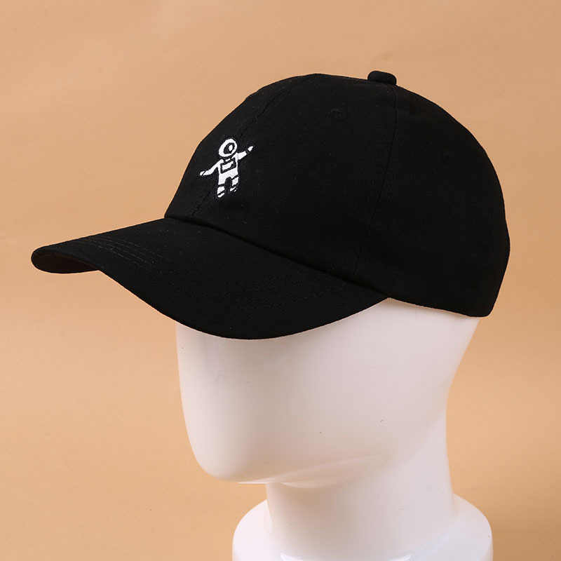 272deb08773 Detail Feedback Questions about Newest Spaceman Embroidery Baseball Cap 4  Colors Available Unisex Fashion Dad Hats Adjustable Cotton Snapback Hats  Casual ...