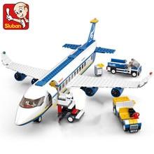 463Pcs City Air Plane Passenger Airport Airplane Building Blocks Sets Avion Technic DIY Bricks LegoINGLs Toys for Children