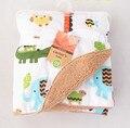 Cobertor Do Bebê frete Grátis conjunto de cama swaddle cobertor do bebê Super Macio Cama Fábrica de Vendas 76*102 CM ctrq0001