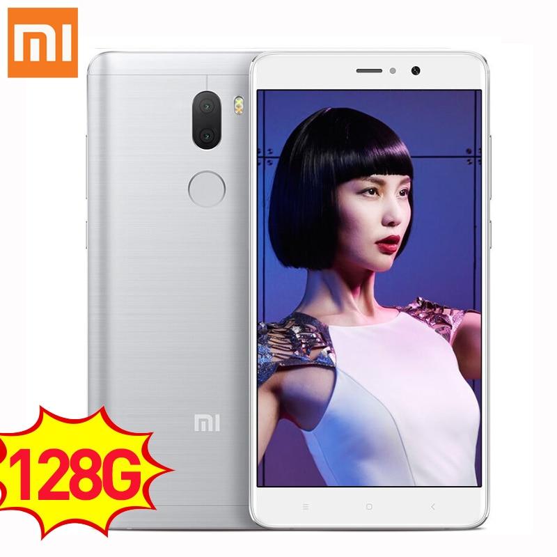 Original Xiaomi Mi5s Plus smartphone 6GB RAM 128GB ROM 5 7 Snapdragon 821 Mi 5s Plus