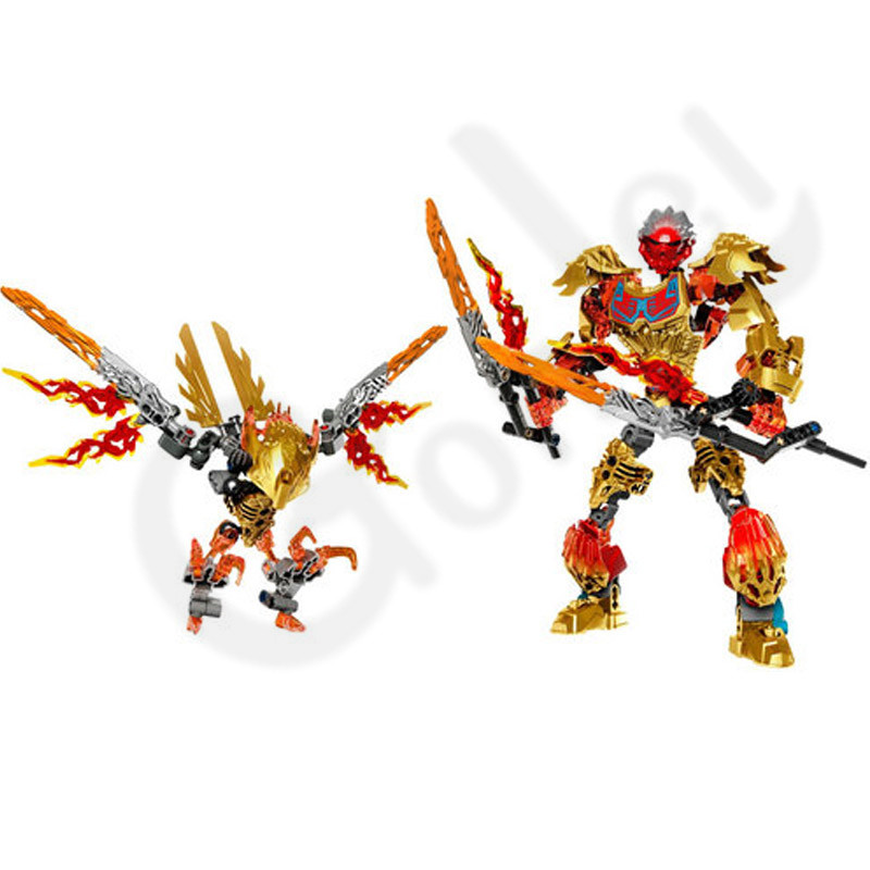 NEW Biochemical Warrior BionicleMask of Light Bionicle Tahu Fire IKIR Building Block Toy Model Compatible with leges 71308 71303 in Blocks from Toys Hobbies