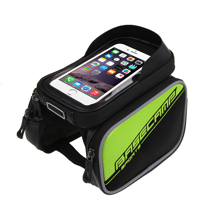 6/'/' Touch Screen Bicycle Cycling MTB Mountain Bike Frame Front Tube Storage Bag