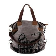 Women s Canvas Shoulder Bag Diaper Bag Purse Overnight Bag Camera Case  Schoolbag Canvas Vintage(China e49c6a7de8719