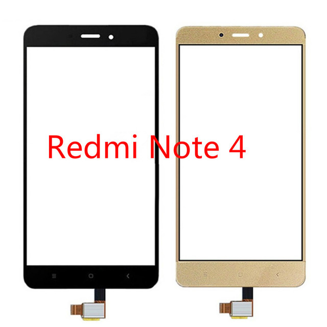 Touch Screen For Xiaomi Redmi Note 4 Touchscreen 5.5 LCD Display Glass Digitizer ( MTK Helio X20 )