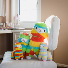 1pc Stuffed Animals Plush Rainbow Alpaca Vicugna Pacos Toys Japanese Alpacasso Baby Gifts birthday present