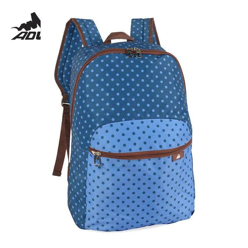 4b4841b6e01b Adventteam Dotted Printing teenage school bag trendy urban women men  backpacks Canvas Children Schoolbag supreme mochila-in Backpacks from  Luggage   Bags on ...