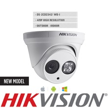 HIK English version Camera DS-2CD2342WD-I 4MP 4mm Security Camera support update H.264 Free Ship from USA IP Dome Camera