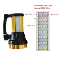 Led Searchlight 18650 Torch Lantern Powerful Searchlight Led USB Rechargeable Work Light LED Portable Spotlight Searchlight