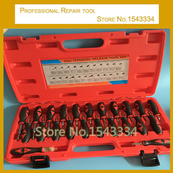 online get cheap wiring harness terminal tool aliexpress com high quality 23 in 1 automotive wiring harness terminal removal tools terminal disassembling tool