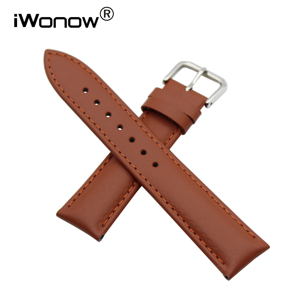 Genuine Leather Watch Band 18mm 20mm for DW Daniel Wellington Stainless Buckle Strap Wrist Belt Bracelet + Spring Bar + Tool