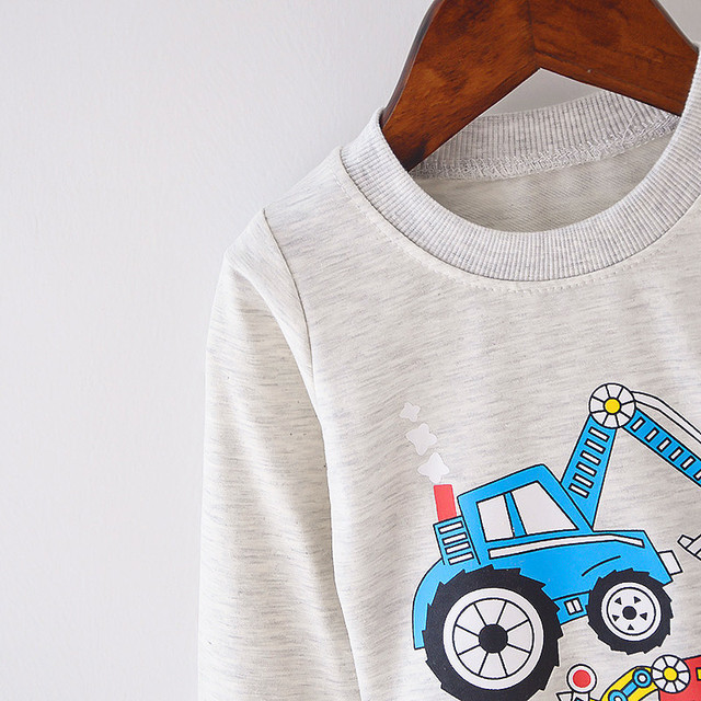 Cotton Baby Long Sleeve T-shirts