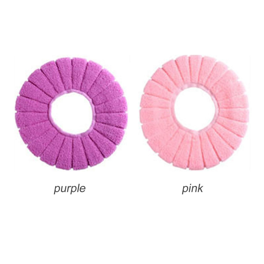 O Type Soft Toilet Closestool Lid Seat Cover Home Bathroom ...