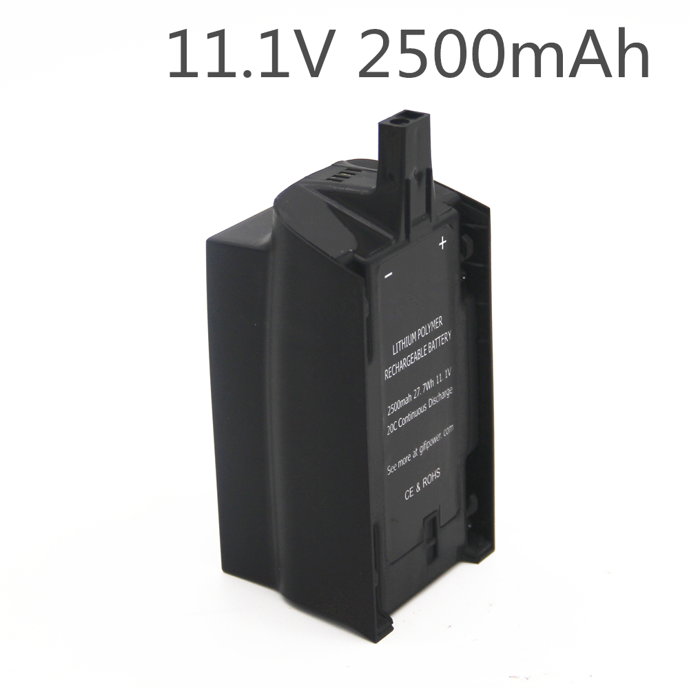 2500mAh 11.1V 10C Continuous Discharge Large Capacity Lipo Battery Drone Backup Replacement Battery For Parrot Bebop Drone 3.0